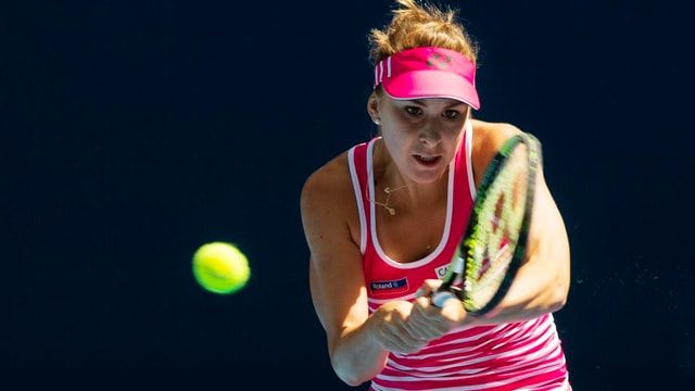 Belinda Bencic steht in Indian Wells in der 3. Runde.
