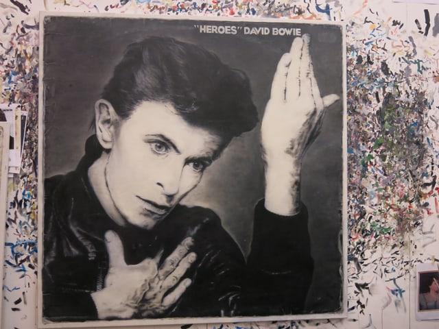 «Heroes» von David Bowie  - grossformatiges Ölbild von Mart Meyer.