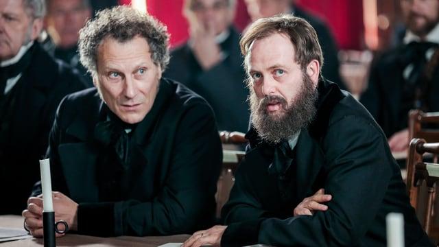 Video «Kampf um den Gotthard - Alfred Escher und Stefano Franscini» abspielen