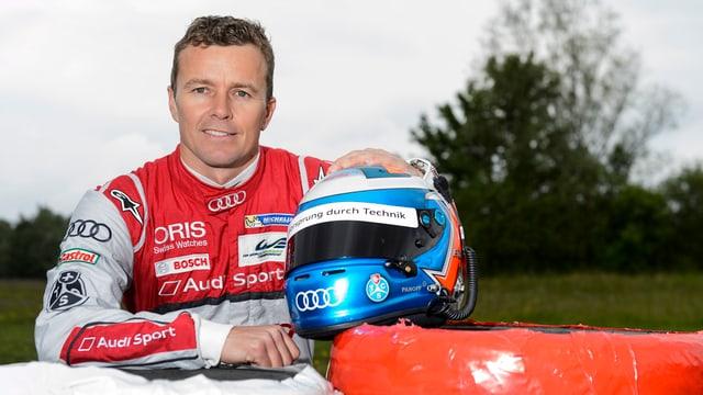 Der Schweizer Rennfahrer Marcel Fässler.