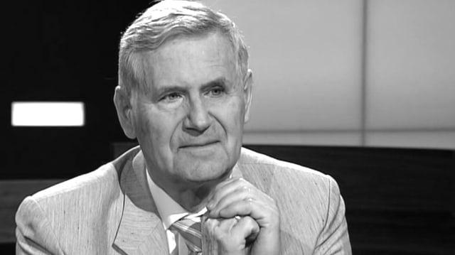 Gottfried Schatz über Biochemie, Forschungsintrigen und Wissenschaftspolitik in der Sendung «Sternstunde Philosophie» im Sommer 2012.