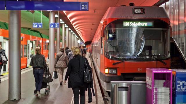 Der RBS-Bahnhof in Bern