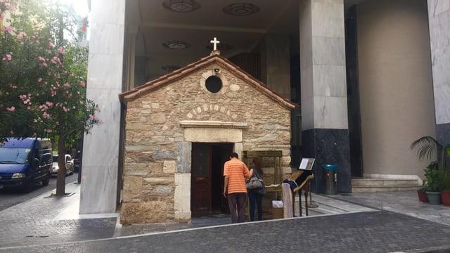 Orthodoxe Kirche in Athen.