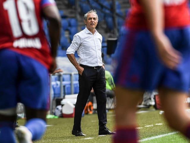FCB-Trainer Marcel Koller.