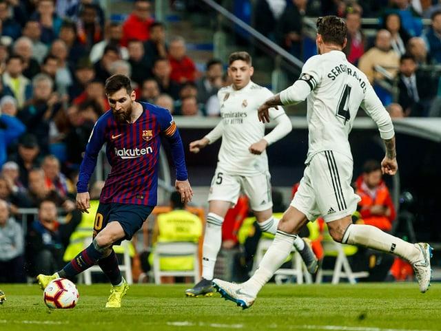 Der «Clasico» zwischen Barcelona und Real.