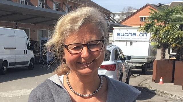 Barbara Thalmann (SP) , neue Ustermer Stadtpräsidentin