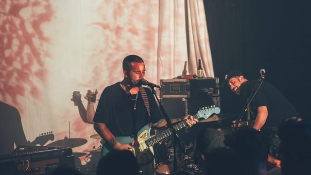 Portugal. The Man rund um Sänger John Gourley (l.) und Zach Carothers im Bogen F, Zürich. Für «Woodstock» arbeiteten sie wieder mit Produzent Danger Mouse.