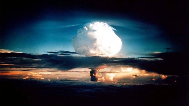 Test der ersten Wasserstoffbombe auf den Marshall-Inseln, 1952