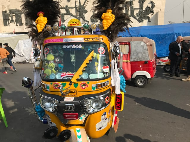 Tuktuk im Irak
