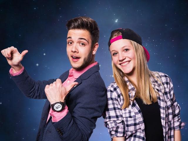 Luca Hänni und Kandidatin Alessia