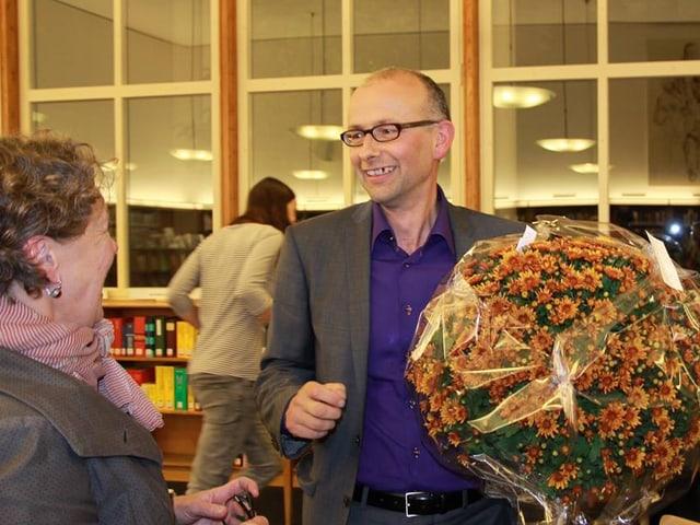 Oktober 2014: Michael Töngi wird als Regierungsratskandidat der Grünen nominiert.
