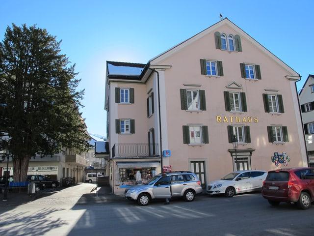 Das Rathaus in Mels