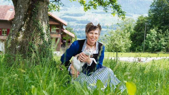 Video ««SRF bi de Lüt – Landfrauenküche» (1): Brigitte Bürgi» abspielen