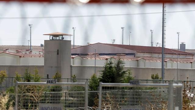 Der Gefängniskomplex Silivri westlich von Istanbul