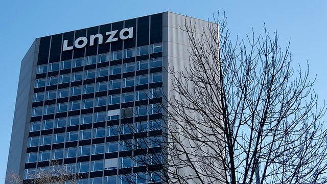 Logo da Lonza.
