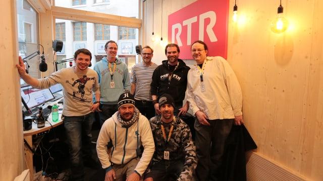 Prefix ha visita al RTR en il studio amez San Murezzan.