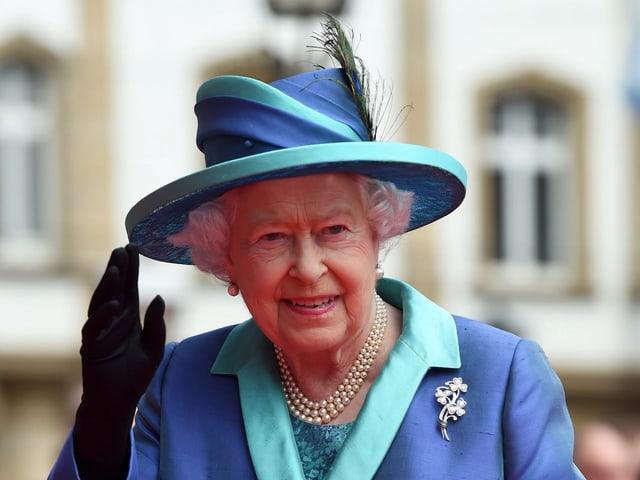 Queen Elizabeth bei ihrem Besuch in Berlin Ende Juni 2015.
