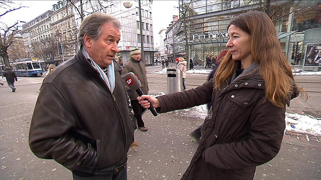Jean-Luc Guyer vom Zürcher Institut für angewandte Wissenschaften wird von Stefanie Schunke interviewt.