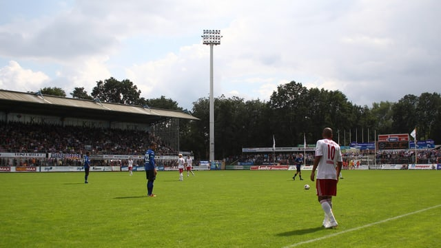 Das Emslandstadion.