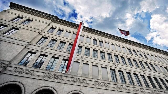Gebäude der Schweizerischen Nationalbank in Zürich