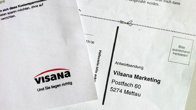 Visana klagt gegen Vilsana