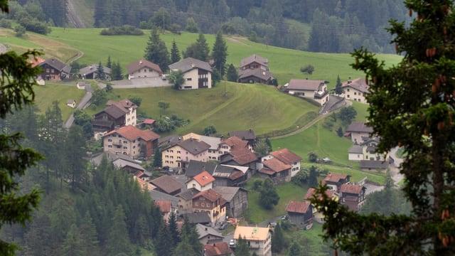Blick auf die Gemeinde Schmitten