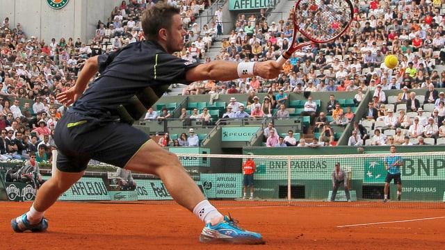 Stanislas Wawrinka will bei den French Open in diesem Jahr hoch hinaus.