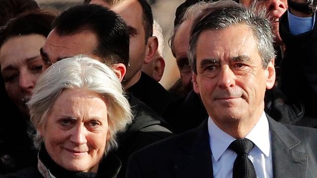 Purtret da Penelope e François Fillon.