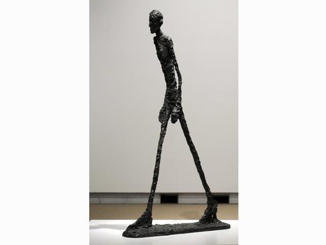 «L'Homme qui marche» von Giacometti