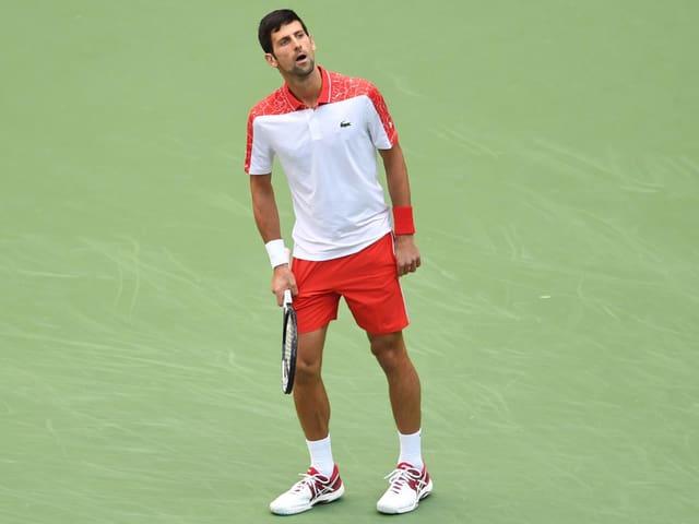 Djokovic in Schanghai