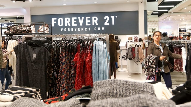Ladenaufnahme «Forever 21».