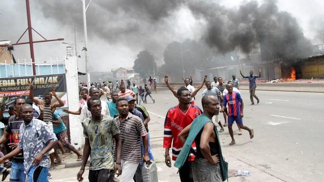 Demonstrationen in Kinshasa.
