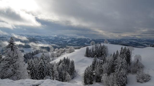 Am 21. November war es im Emmental kurz Winter. War's das schon vom Winter?