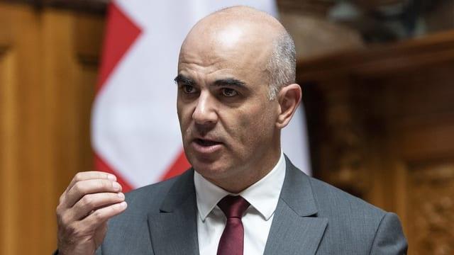 Il Cusseglier federal Alain Berset