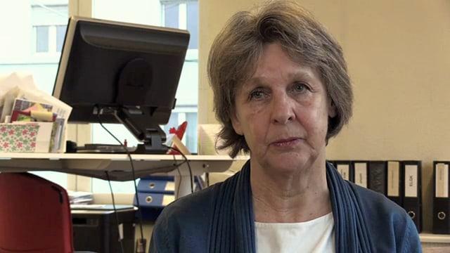 Erika Ziltener von der Patientenstelle Zürich.