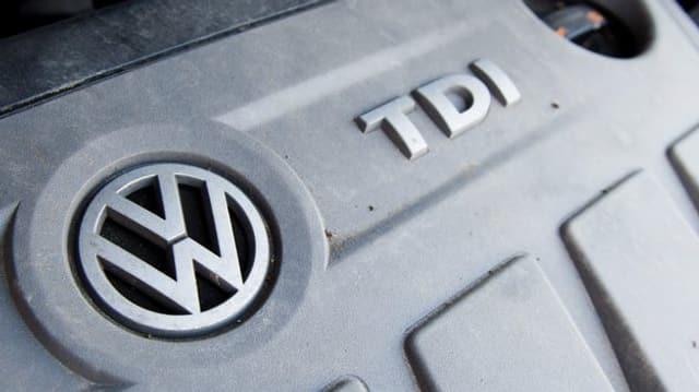 In motor da diesel da VW.