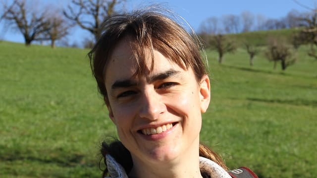 Ein Portraitbild der Autorin