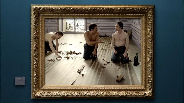 Video «Bilder allein zuhaus: Die Parkettschleifer (16/30)» abspielen
