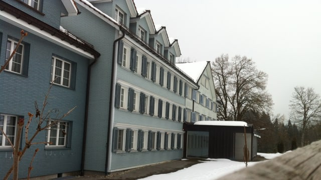 Ansicht des Altersheims in Mogelsberg