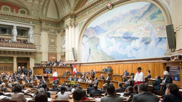 Il parlament svizzer a Berna.