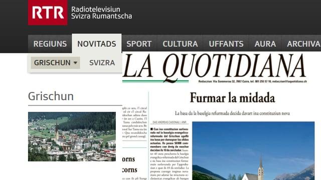 RTR e La Quotidiana.
