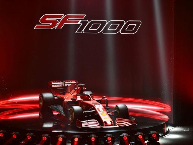 Der neue SF1000 wird vorgestellt.