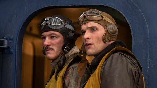 Die Helden des Films: Wade (Luke Evans) und Dick (Ed Skrein).