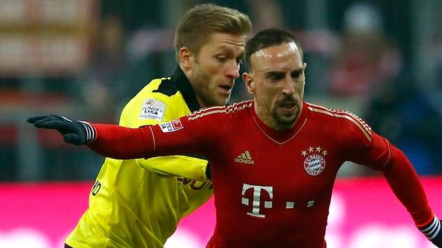 Bayern - BVB im Viertelfinal