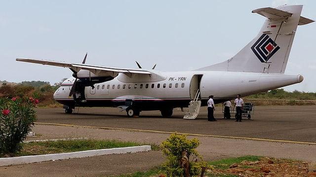 Das Flugzeug ATR 42-300