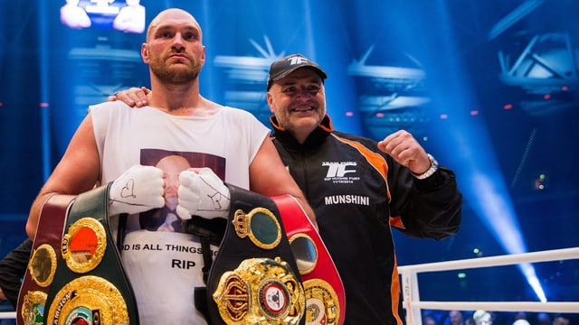 il boxader Tyson Fury e ses bab