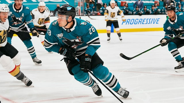 Meier und Sharks beenden NHL-Saison mit Kanterniederlage