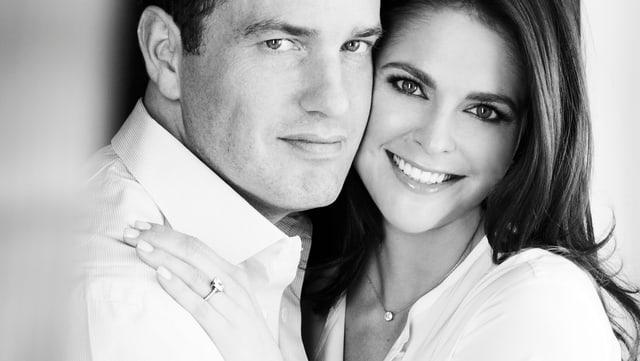 Chris O'Neill und Prinzessin Madeleine