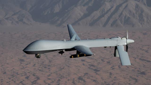 US-Drohne im Flug