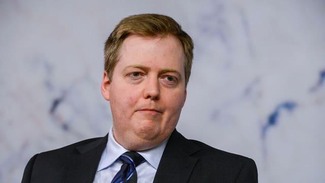 purtret dal primminister islandais